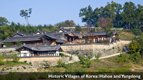 Historic Villages of Korea:Hahoe and Yangdong